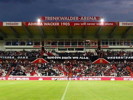 Das Spiel zwischen Admira gegen Salzburg in der Trenkwalder Arena musste abgesagt werden