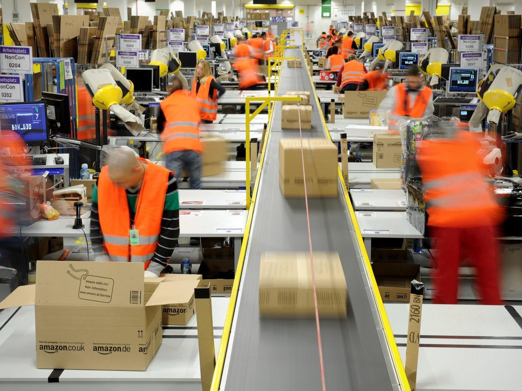 Amazon-Dumpinglöhne: Sonderprüfung gegen Tochter der niederösterreichischen Leiharbeitsfirma