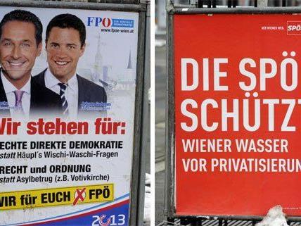 SPÖ und FPÖ sind sich in Sachen Volksbefragung spinnefeind.