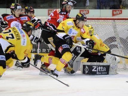 Die Vienna Capitals feierten gegen Znojmo einen sicheren 6:3 Heimsieg