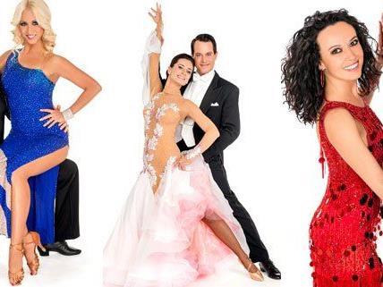 Die Dancing Stars der 8. Staffel in voller Montur.