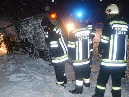 In der Nacht waren viele Feuerwehren in Niederösterreich im Einsatz.