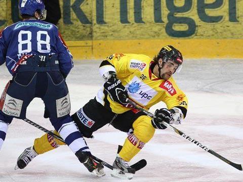 Die Vienna Capitals mussten eine Niederlage einstecken.