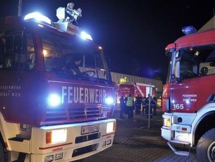 Zu einem großen Brand in Wien-Meidling musste die Feuerwehr am Sonntag ausrücken.