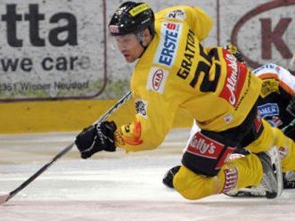 Benoit Gratton wird mindestens sechs Wochen lang nicht mehr auf dem Eis stehen.