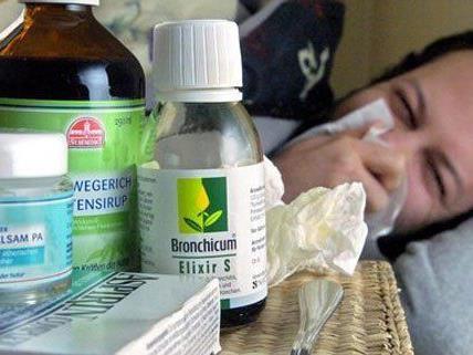 Grippewelle in Wien nimmt nicht ab