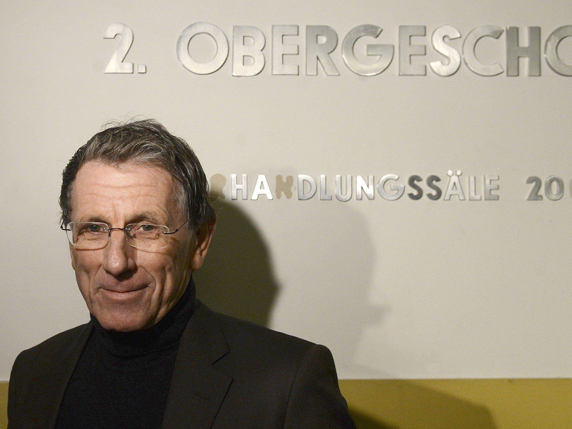 Lobbyist Peter Hochegger stand als Zeuge im Telekom-Prozess vor Gericht.