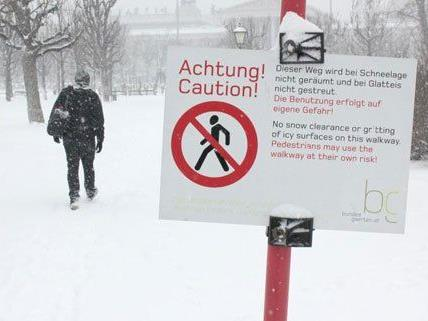 Winterwetter - Erwartetes Schneechaos in Ostösterreich bleibt aus