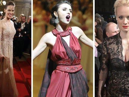 Die Best-Dressed am Wiener Opernball 2013.