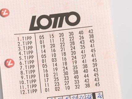 Fast 5 Mio. Euro gehen an einen Lotto-Gewinner in NÖ.