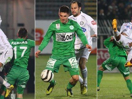 0:0 endete die Partie in Mattersburg am Samstag.