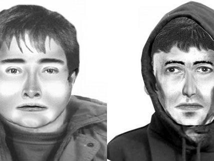 Diese beiden Männer sollen ein Postamt in Groß-Enzersdorf überfallen haben.