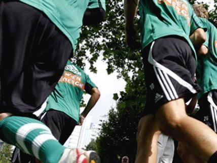 Beim zweiten Rapid Lauf im Wiener Prater werden Spenden für die Stiftung Kindertraum gesammelt