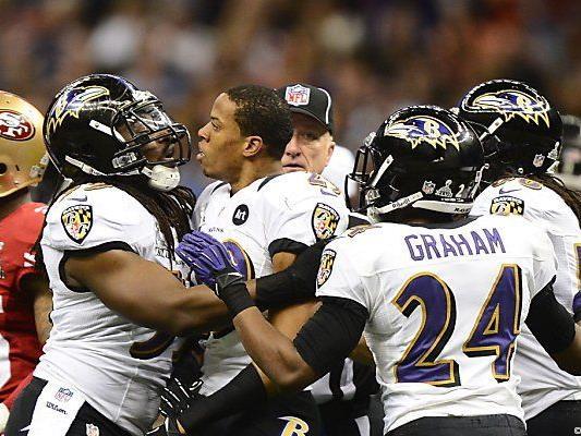 Die Ravens setzten sich beim Super Bowl durch.