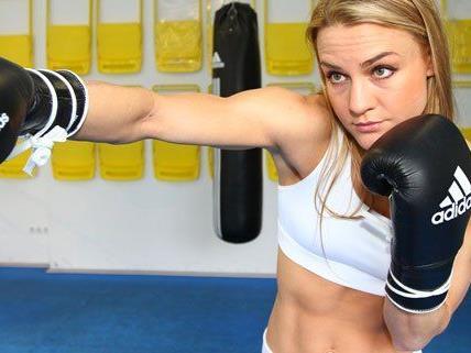 Die Wienerin Nicole Wesner bestreitet am Samstag ihren zweiten Profiboxkampf