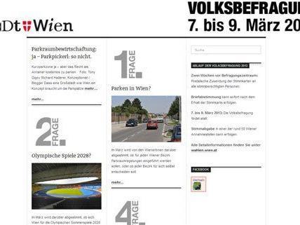 Online kann schon vor der Wiener Volksbefragung diskutiert werden.