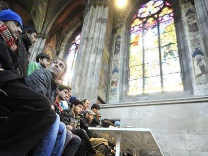 Asyl -Votivkirchen-Flüchtling aus der Schubhaft entlassen