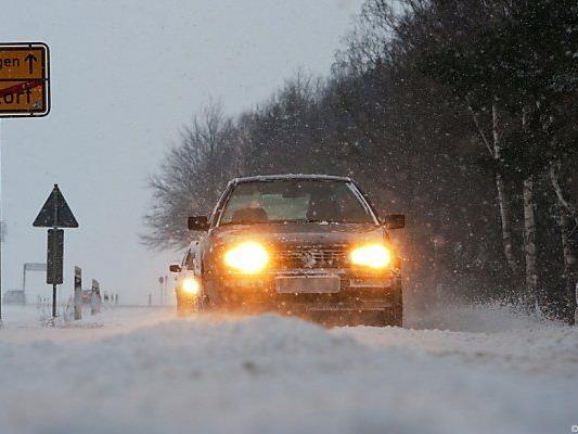 Winter bleibt in Deutschland hart