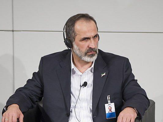 Moaz al-Khatib ist der Vorsitzende der Koalition
