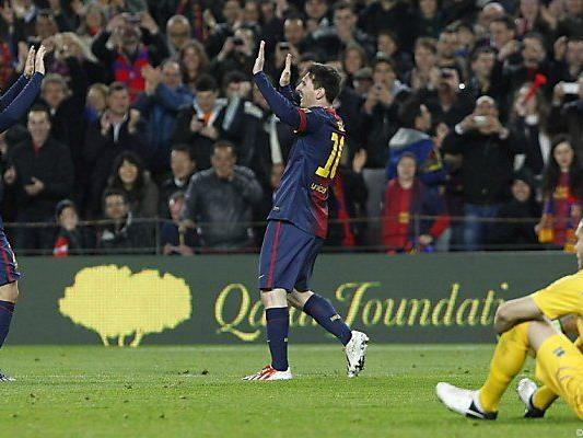 Messi baute Torrekord aus