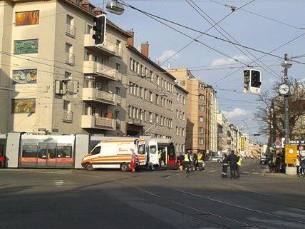 Eine Leserreporterin beobachtete den Unfall am Donnerstag.