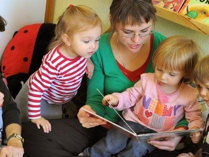 Sprachen sollen im Kindergarten gefördert werden