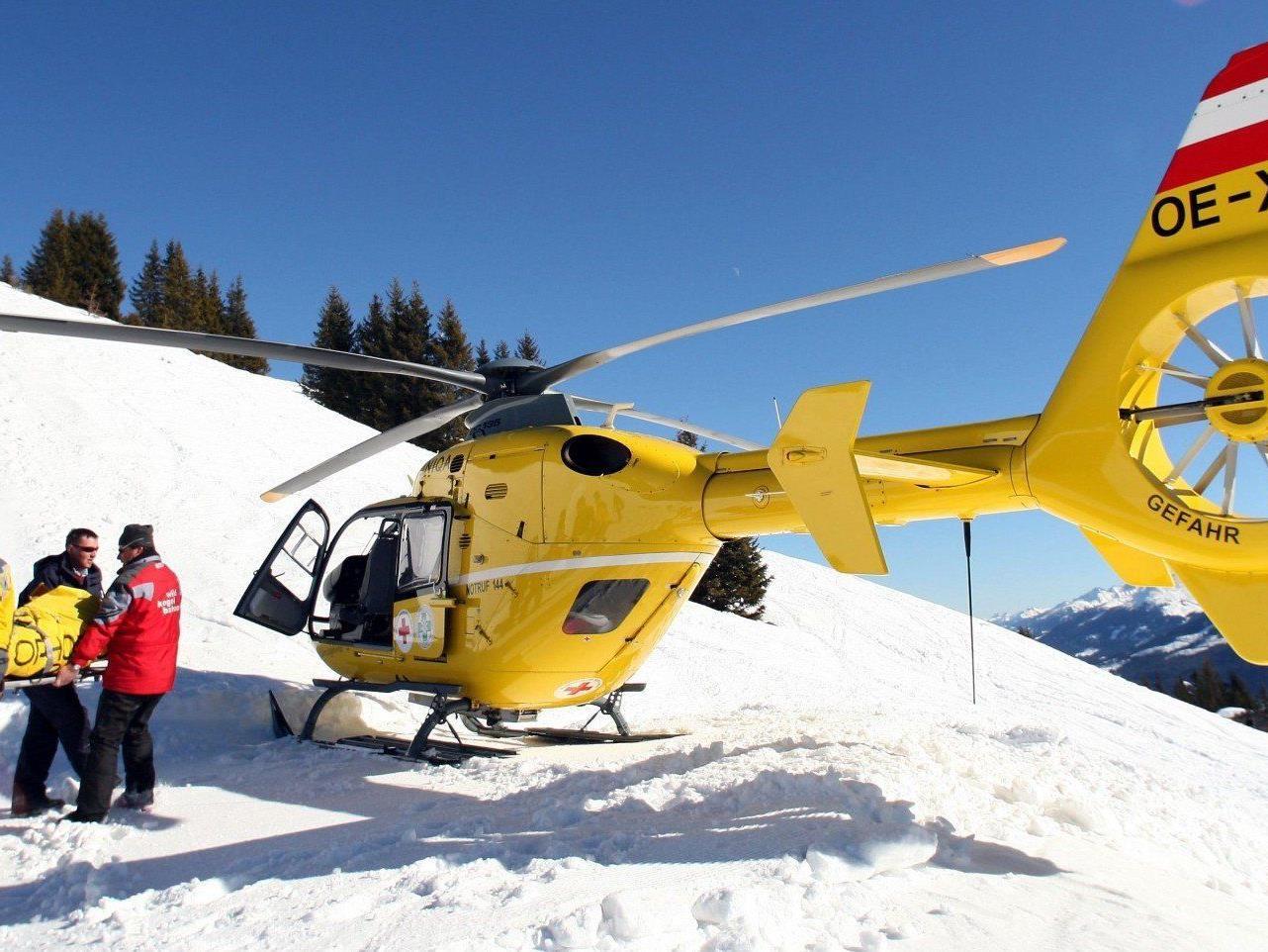 Ein sechsjähriger Bub aus Wien wurde bei einem Ski-Unfall in Tirol schwer verletzt.