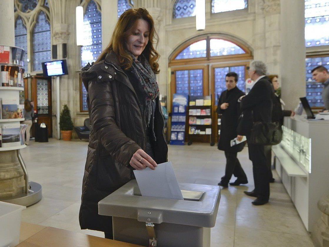 Am Donnerstag startete die Wiener Volksbefragung 2013.