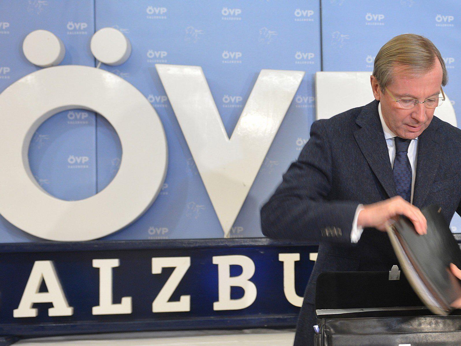 Vor der Landtagswahl in Salzburg präsentiert die ÖVP ein neues Programm