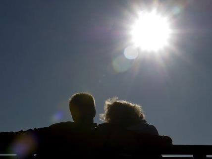 Genießen Sie die Sonne so lange Sie noch können: Am Wochenende kommt wieder Schnee nach Wien