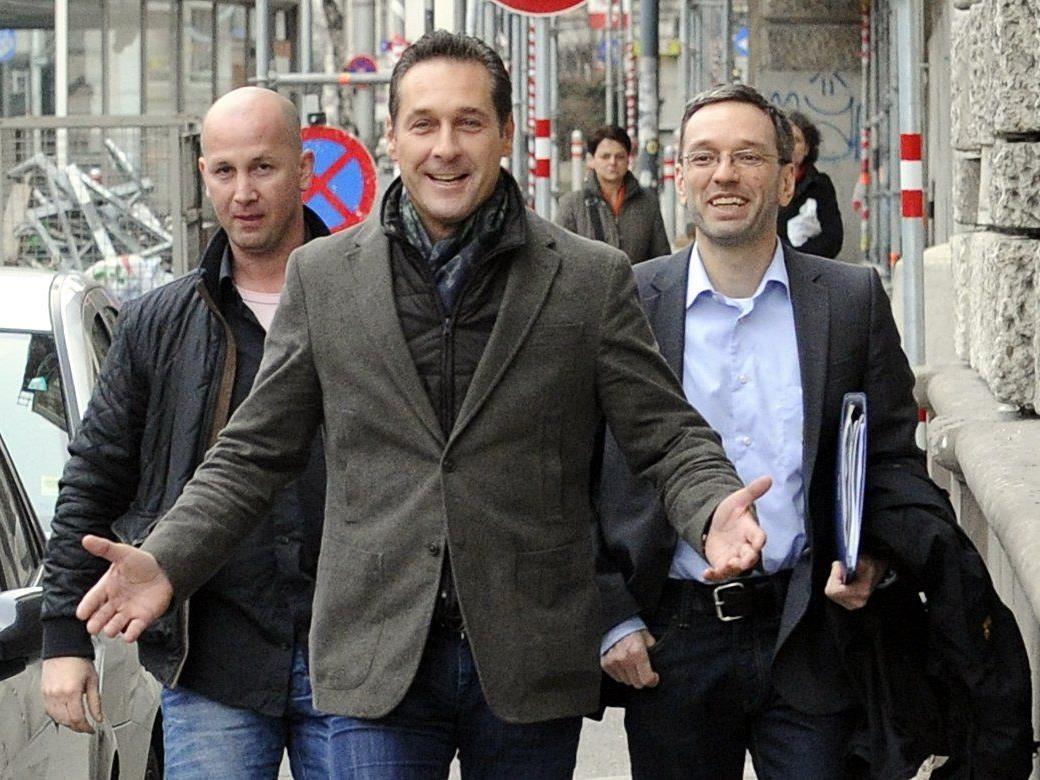 FPÖ-Aussprache in Wien nach den Landtagswahlen