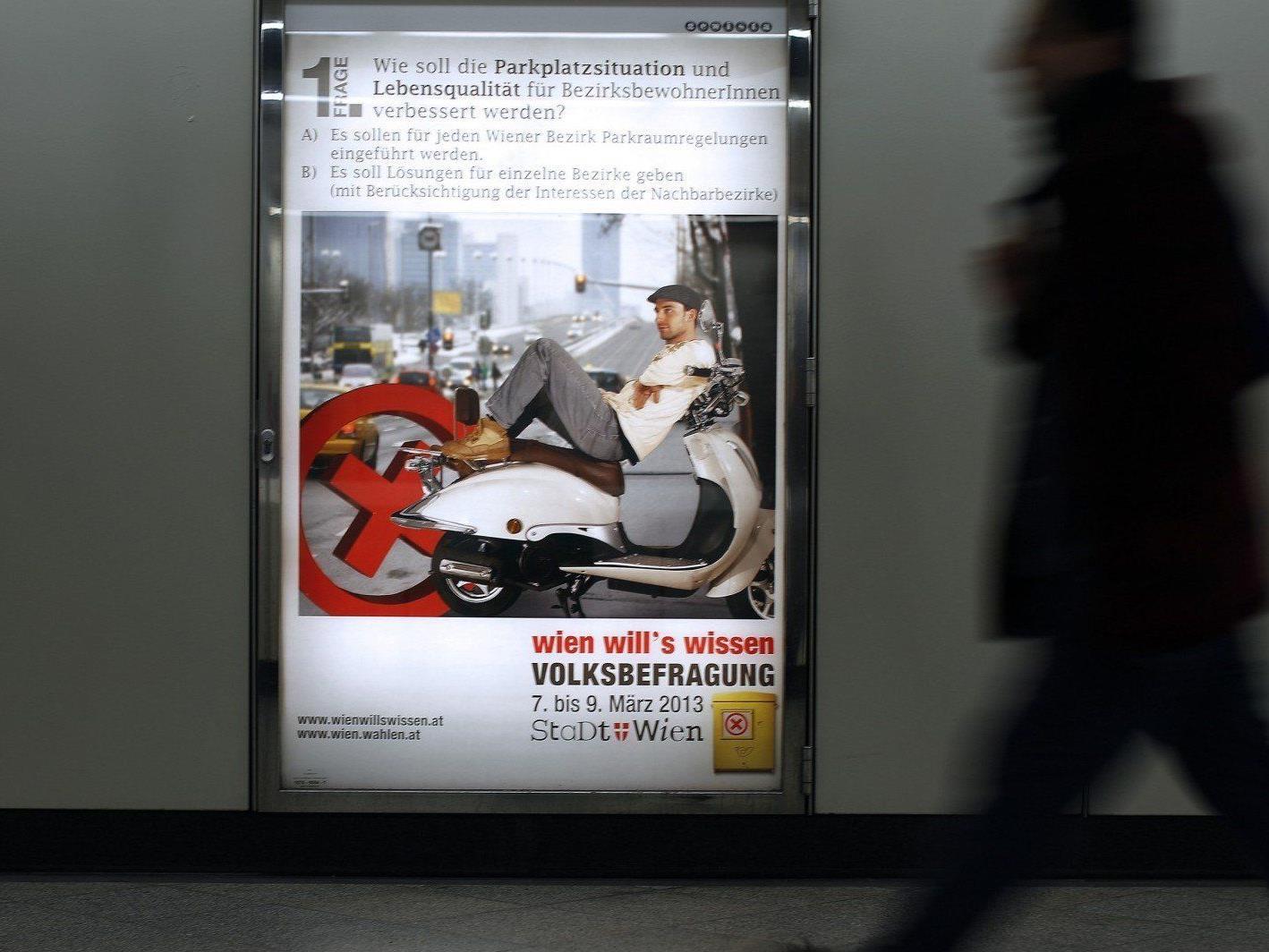 """Erste unbestätigte Trends zur Wiener Volksbefragung: """"Nein"""" zur Olympia-Bewerbung."""