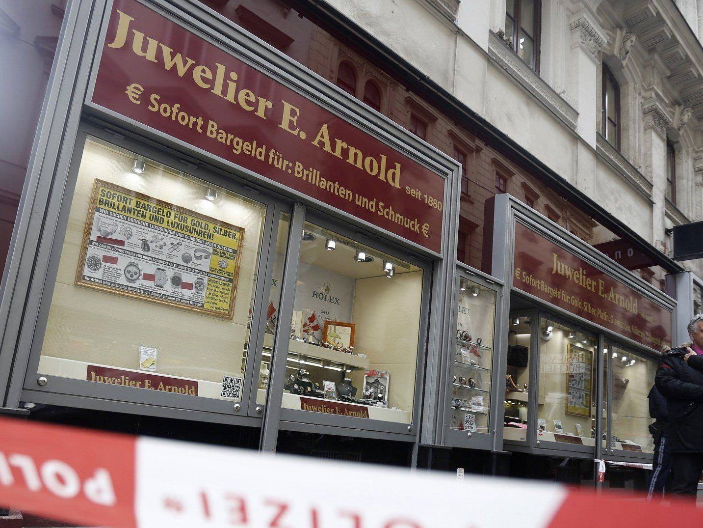 """Der Juwelierüberfall erwies sich für die Wiener Polizei als """"Glücksfall""""."""