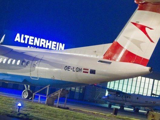 Austrian Airlines stellt Flüge nach Altenrhein mit dem Sommerflugplan ein.