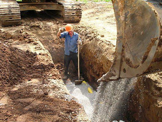 In einer Baugrube in Döbling fand man eine Granatpatrone