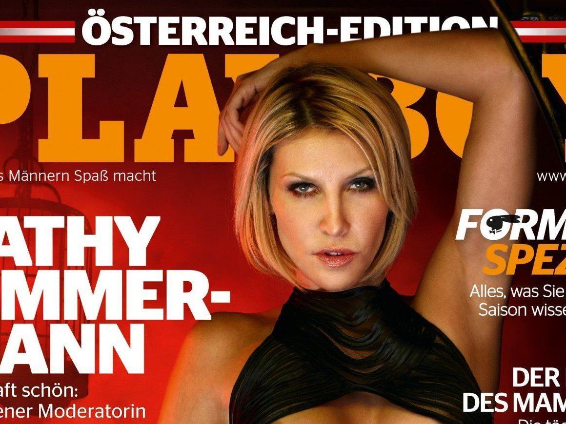 Cathy Zimmermann zeigt sich nackt im Playboy.