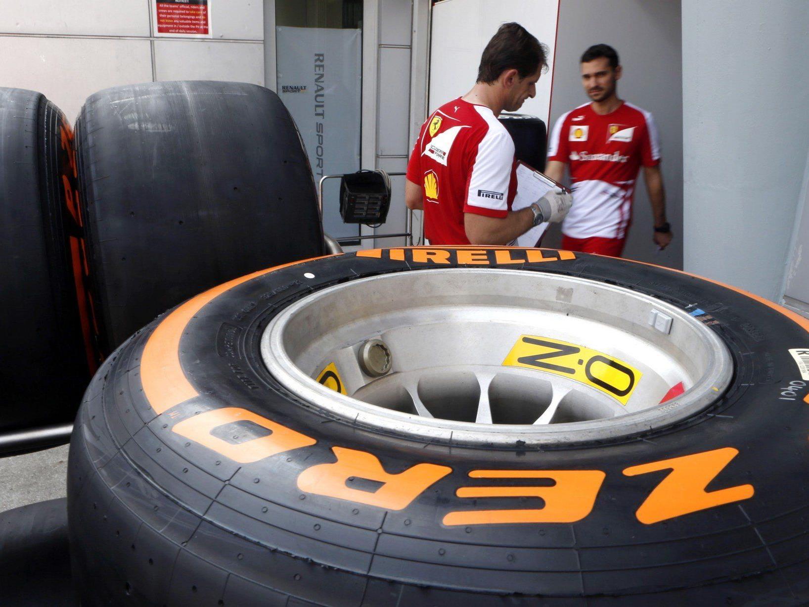 2. Saisonrennen der Formel 1 in Malaysia. Großes Fragezeichen über den aktuellen Reifen von Pirelli.