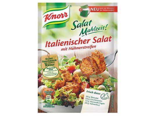 Neu von Knorr: Salat Mahlzeit!
