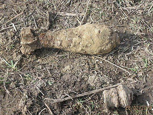 Dieses Kriegsrelikt wurde auf einer Baustelle in Donaustadt gefunden
