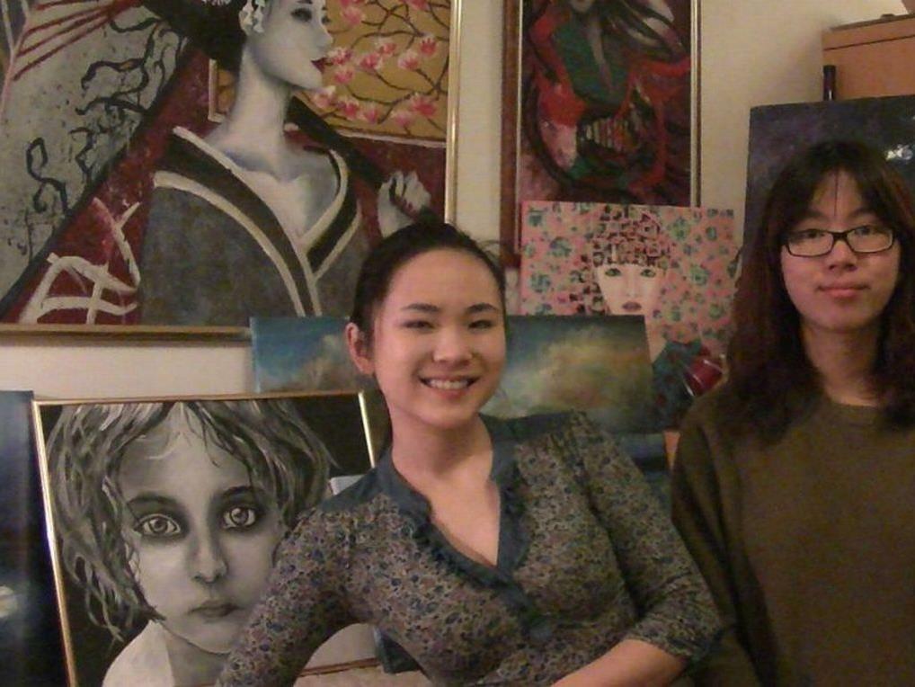 Angela und Meng Tang