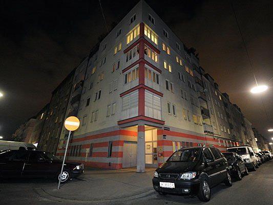 In diesem Haus in Favoriten geschah der zweite Fall von Mord und Selbstmord binnen 24 Stunden