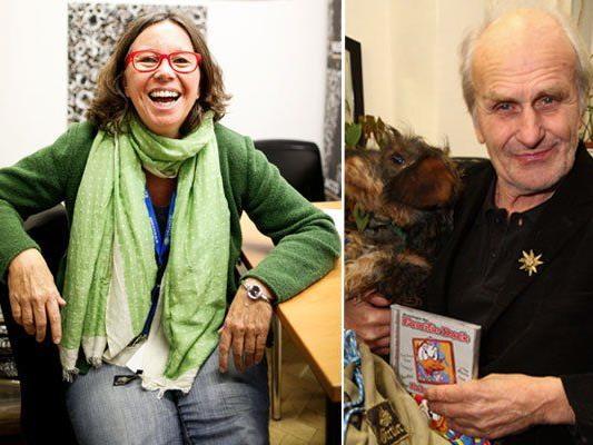 Mit dabei bei der Nacht der Philosophie: Renee Schröder und Roland Girtler