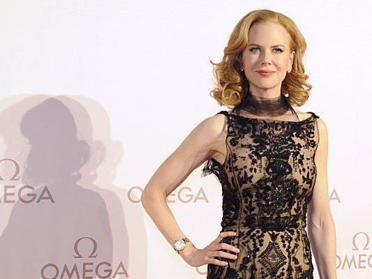 Nicole Kidman bei ihrem Kurzbesuch in Wien