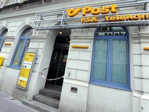 Bewaffneter Mann überfiel Postamt in Wien