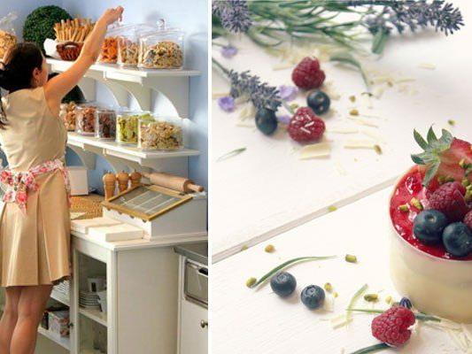 Im Rori's Finest Sweets gibt es allerlei süße Genüsse in chicer Atmosphäre