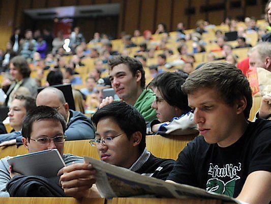 Studenten an der TU Wien