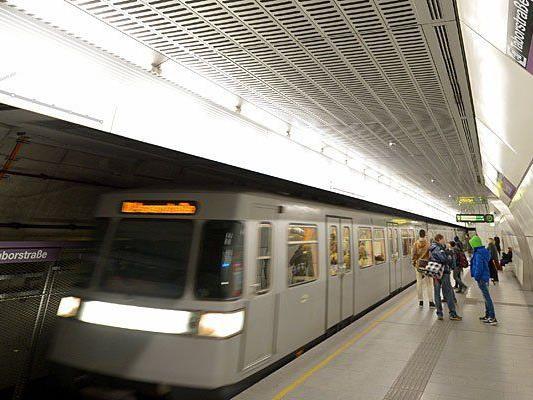 In der U2-Station Taborstraße kam es zu dem folgenschweren Zwischenfall