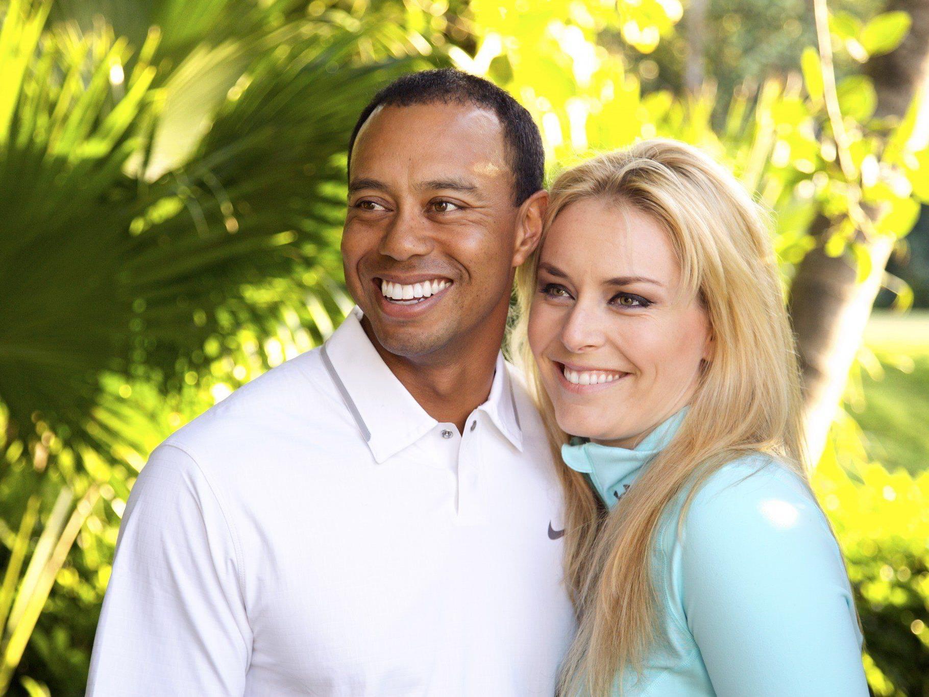 Sportliche Beziehung: Vonn und Woods sind ein Paar