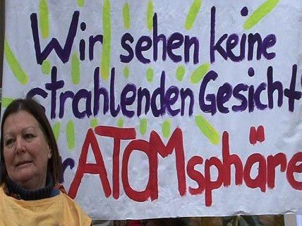 Demonstration gegen Atomkraft in Wien