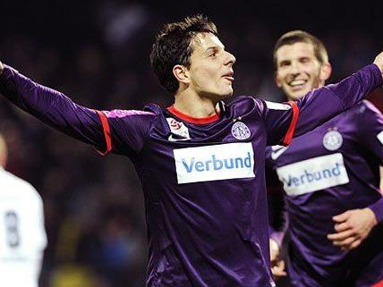 Philipp Hosiner fehlen noch 14 Tore auf die Bestmarke von Hans Krankl
